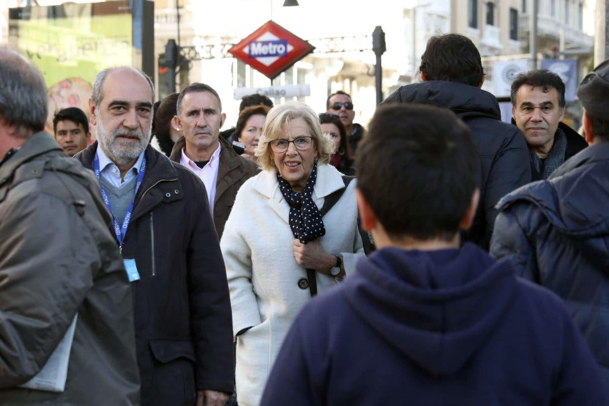 Carmena habla de «éxito» en el arranque de Madrid Central