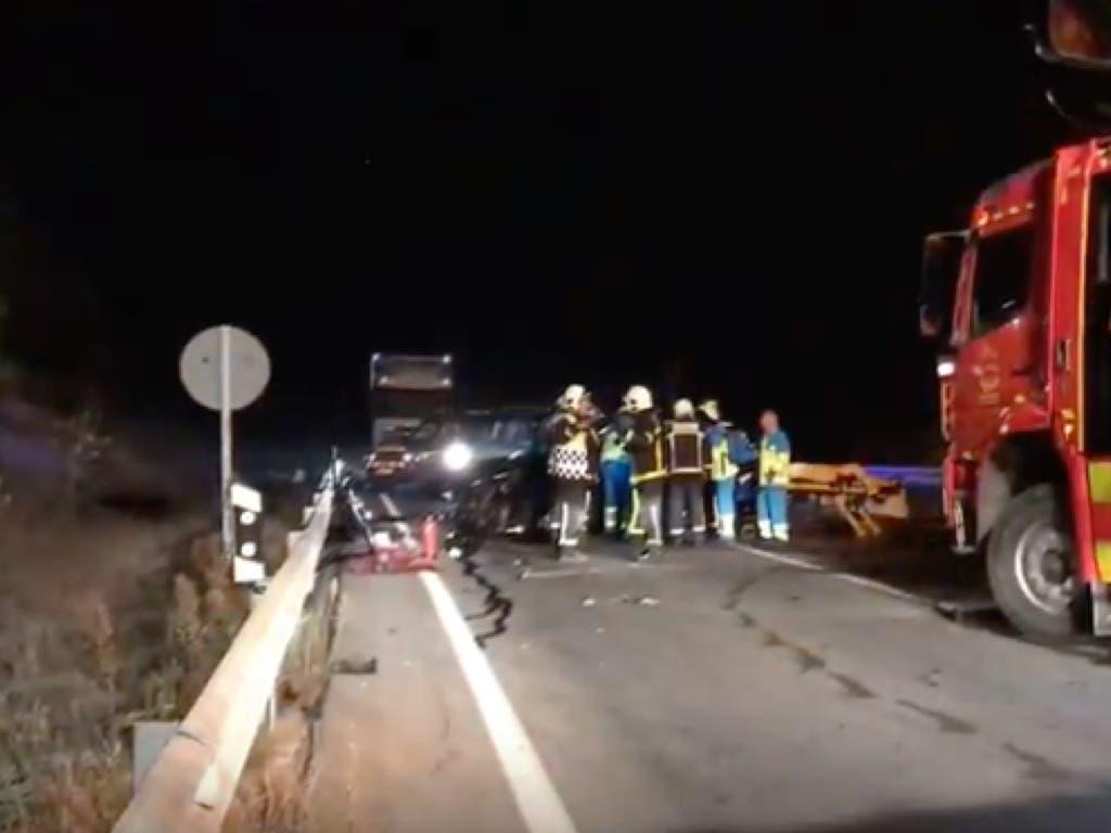 Accidente mortal en la M-203, San Fernando de Henares