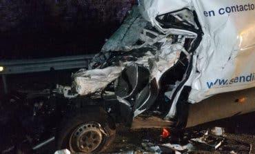 En estado crítico un conductor tras sufrir un accidente en la A-2