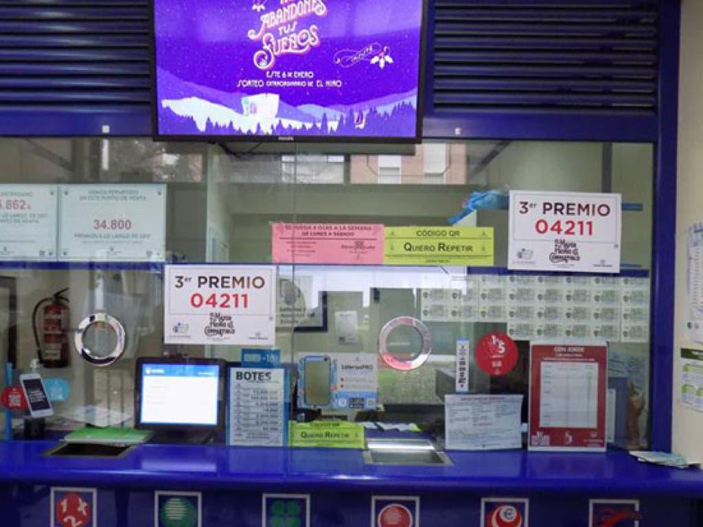 La Lotería de Navidad deja tres premios en Guadalajara