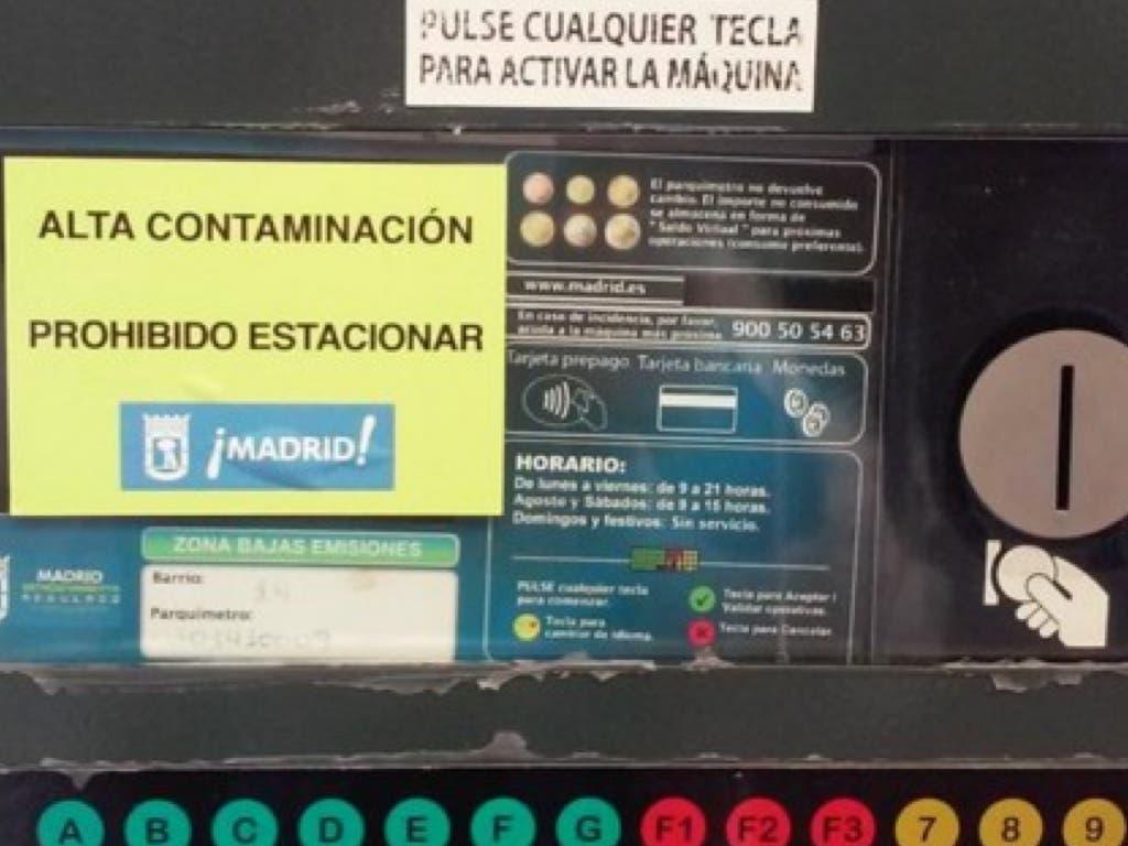 Madrid activa el escenario 2 por contaminación con excepciones