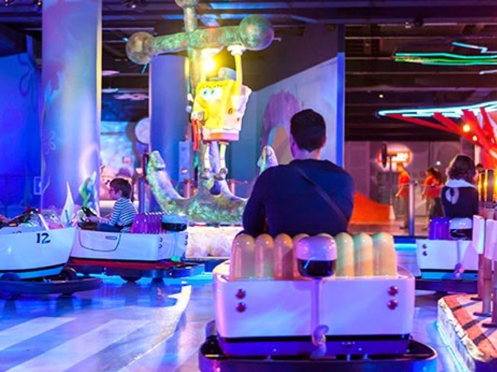 Abre en Madrid un nuevo parque temático dedicado a Nickelodeon
