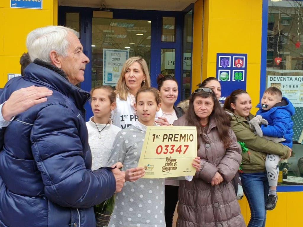 La Lotería de Navidad riega de premios la Comunidad de Madrid
