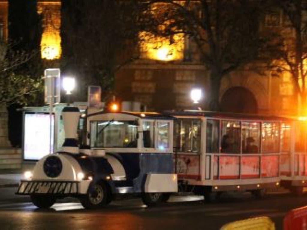 La Policía inmoviliza el trenecito navideño de Alcalá de Henares
