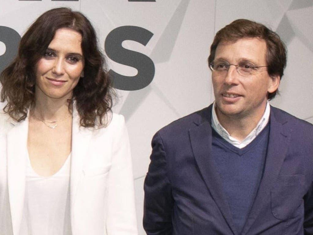 El PP ya tiene candidatos para Madrid: Díaz Ayuso y Martínez Almeida