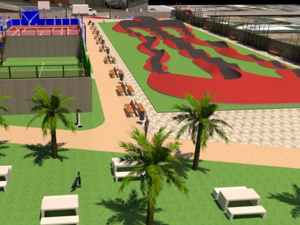 Adjudicadas las obras del nuevo parque de Azuqueca con pump track y minigolf