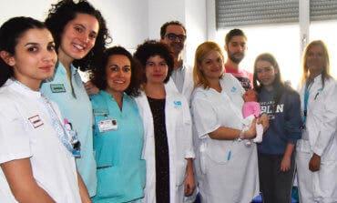 Nagore y Akram, los primeros bebés nacidos en 2019 en el Hospital de Torrejón