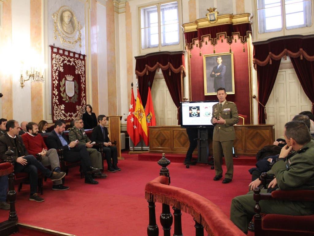 Alcalá de Henares homenajea a la BRIPAC por sumisión en Irak