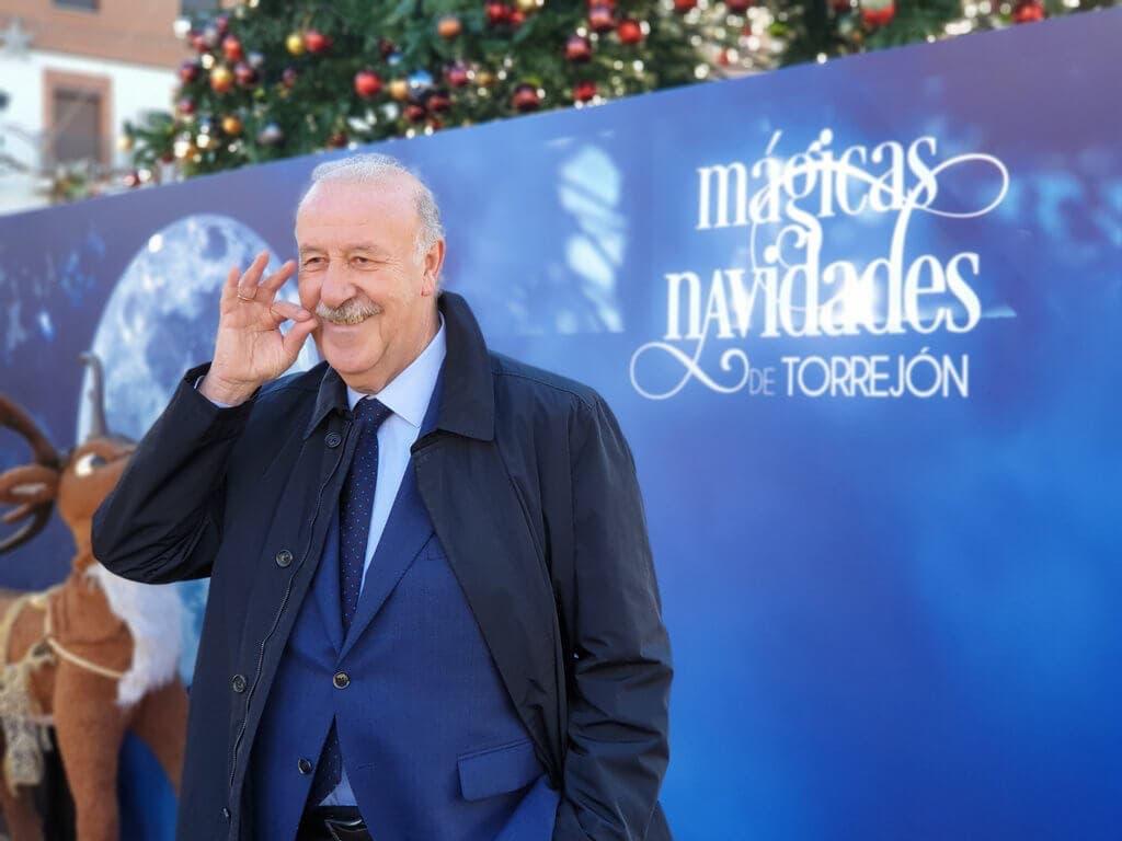 Vicente del Bosque presenta la Gran Cabalgata de Reyes de Torrejón
