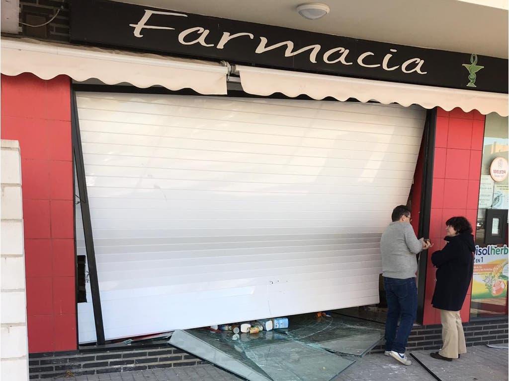 Nuevo alunizaje en una farmacia de Alcalá de Henares