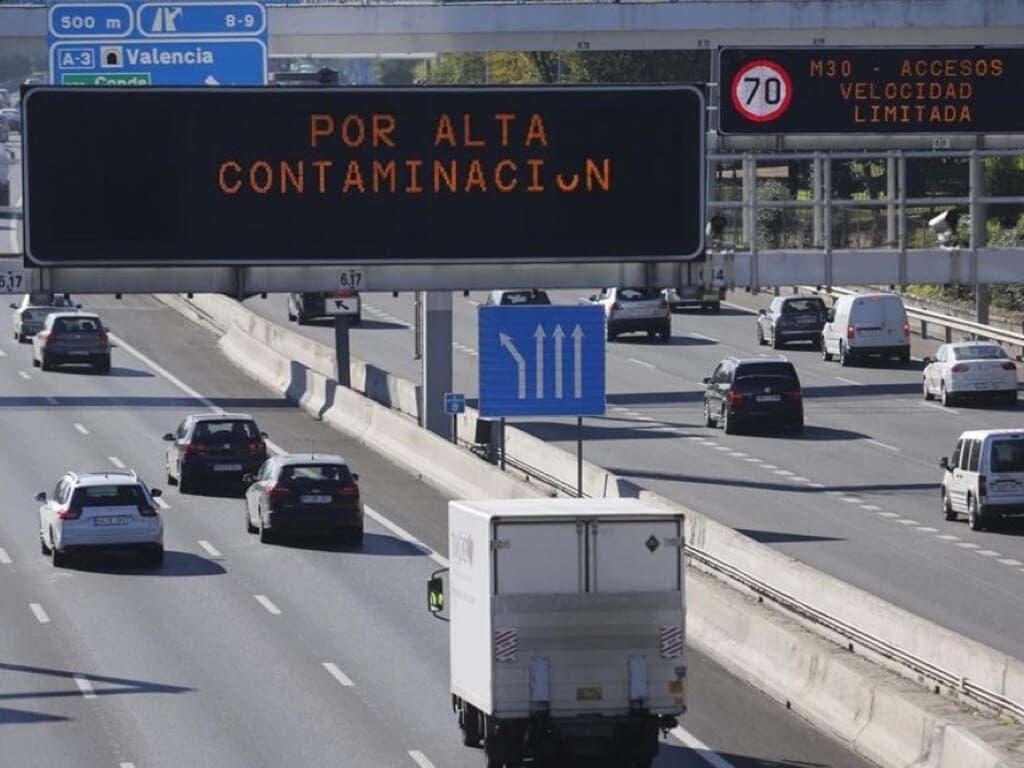 Madrid activa para este martes el protocolo de contaminación