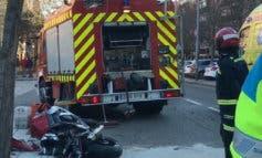 Fallece un motorista de 44 años tras chocar contra una farola
