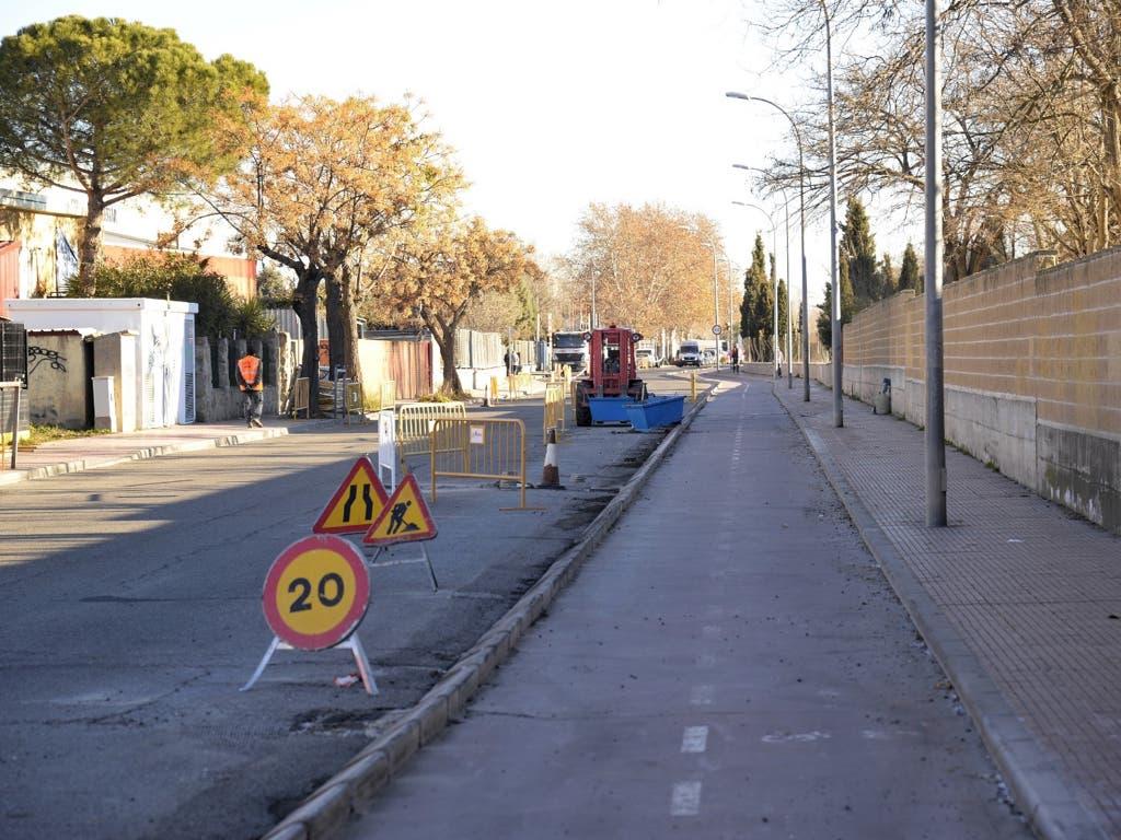 Comienzan las obras para mejorar los accesos al centro comercial La Dehesa de Alcalá de Henares