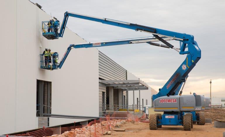 Avanzan las obras del centro comercial Open Sky de Torrejón