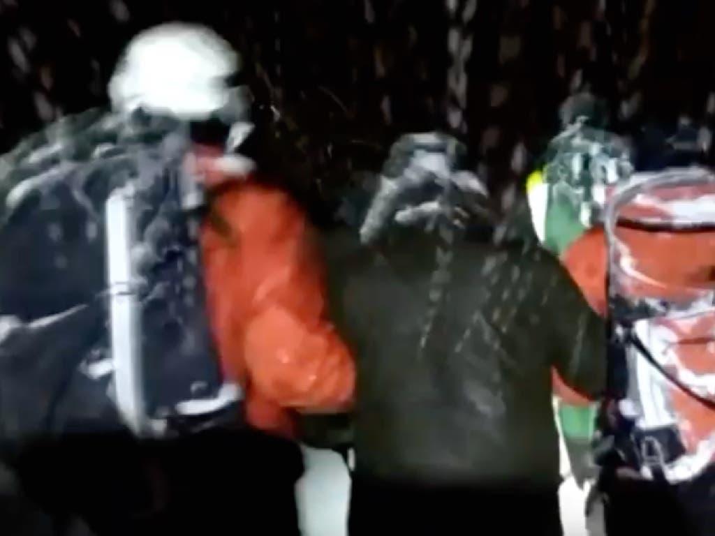 Rescatan a un joven con hipotermia perdido en la Sierra de Madrid