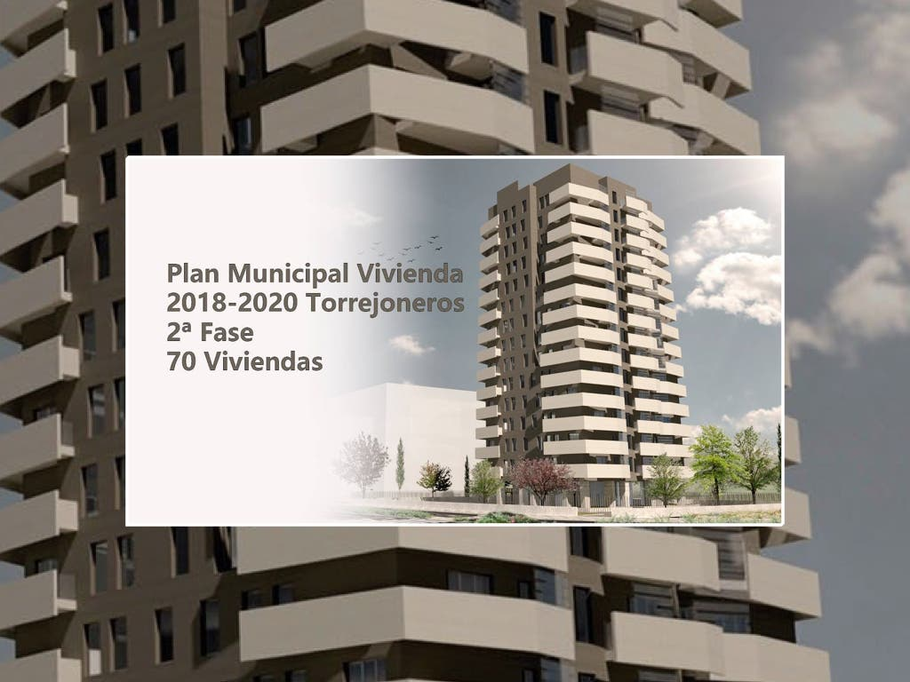 Torrejón ofrece 70 viviendas protegidas desde 78.000 euros