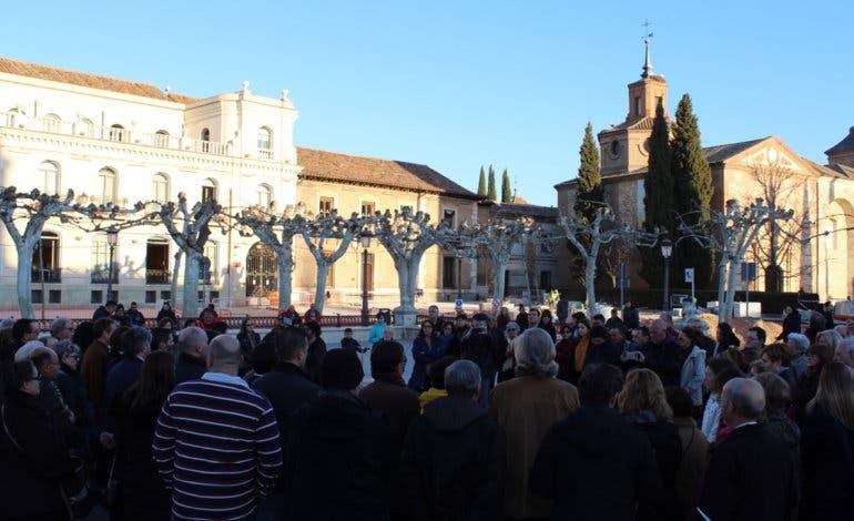 Alcalá de Henares recuerda a Daría, la joven asesinada por su pareja
