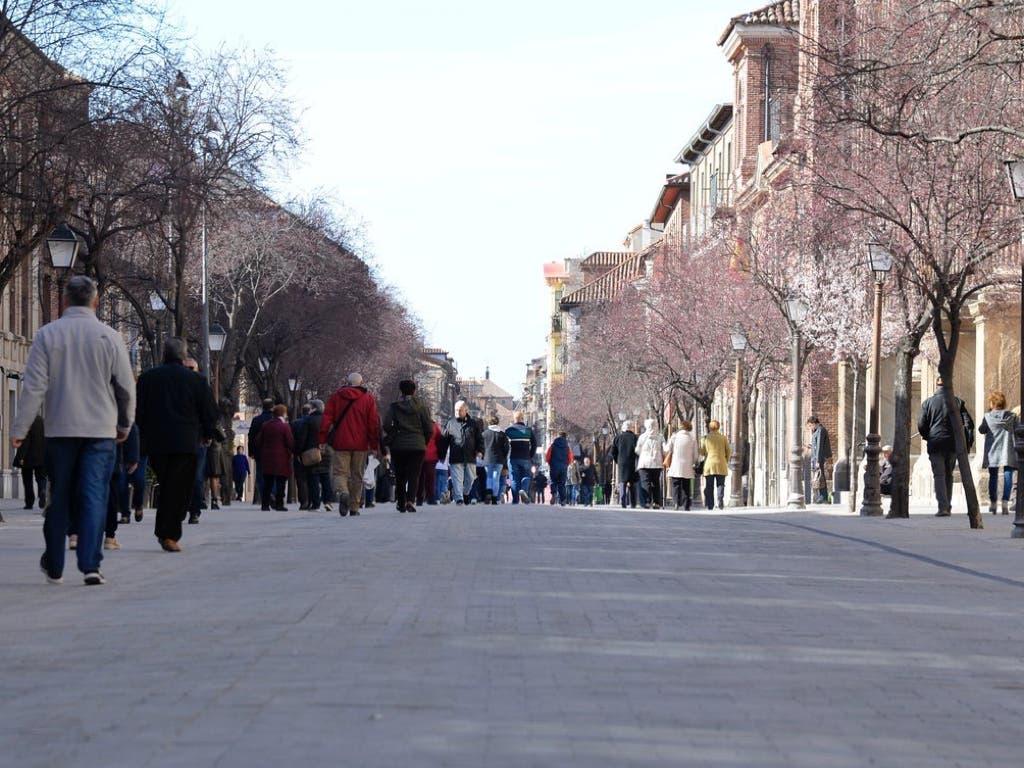 Alcalá de Henares estudia ampliar la peatonalización del centro