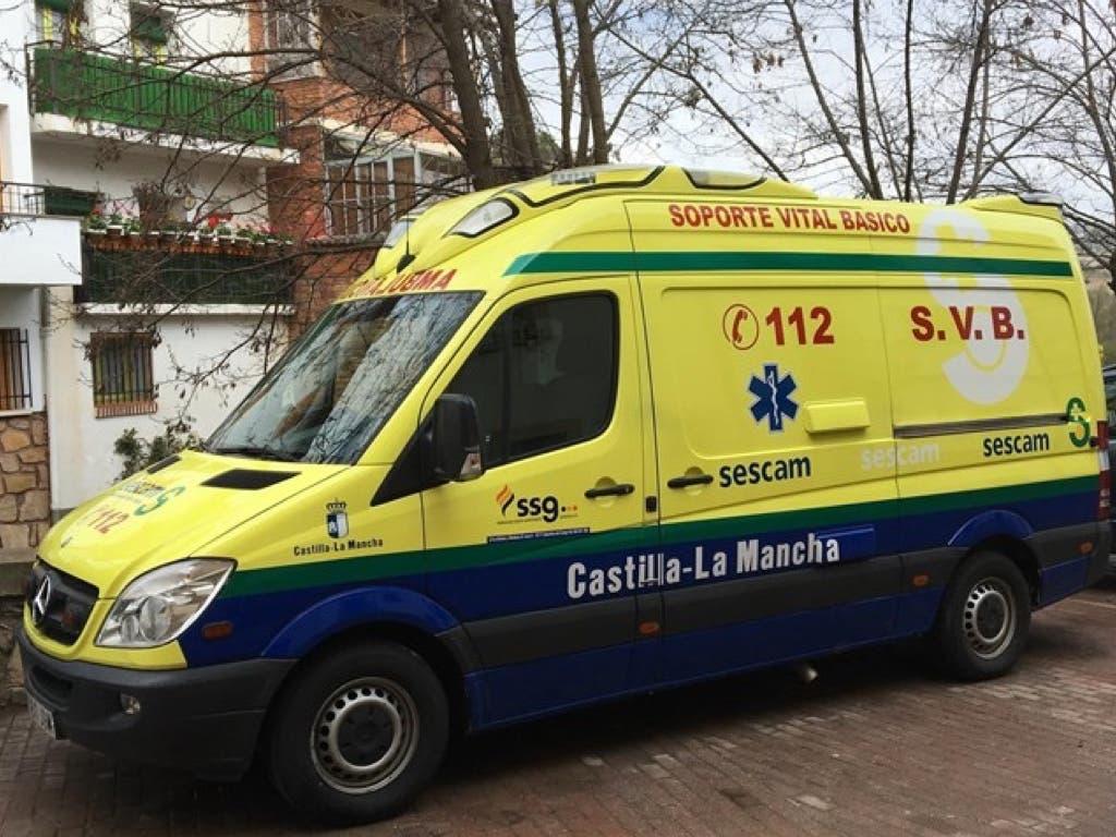 Brutal agresión a dos conductores de ambulancia en Guadalajara