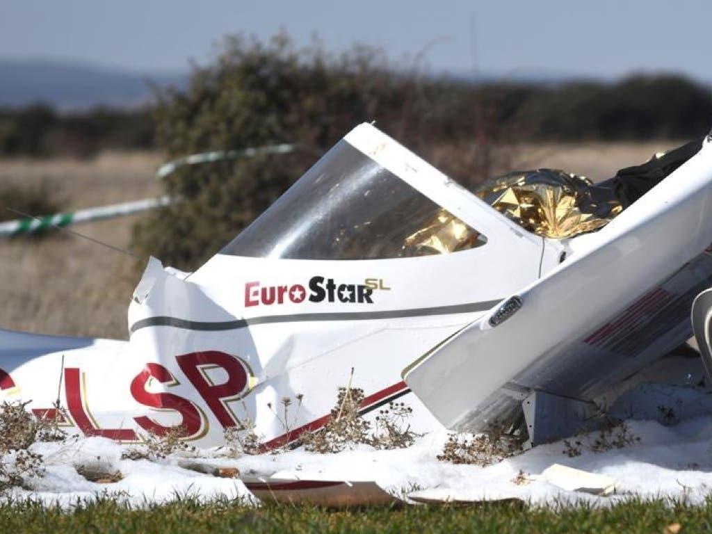 Dos madrileños mueren al estrellarse su avioneta en Segovia
