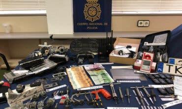 Detenidos en Torrejón los cabecillas de una red que robaba coches