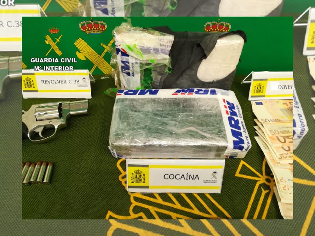 Trece detenidos en Madrid, Guadalajara y otras provincias por robos, tráfico de drogas y secuestros