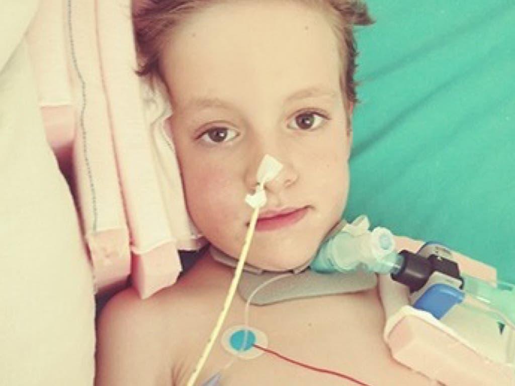 Marcos, el niño madrileño que necesita ayuda para un tratamiento