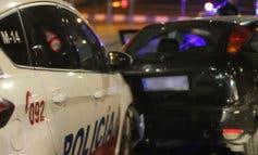 Persecución policial de película con varios agentes heridos y tres detenidos