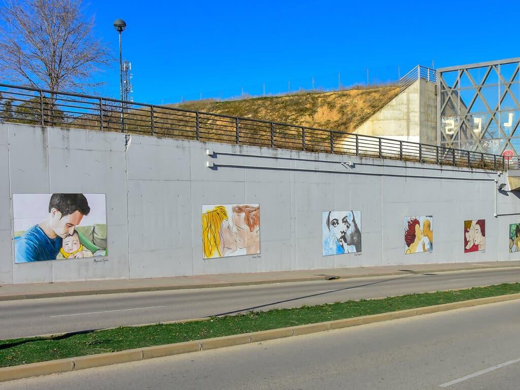Un total de 48 murales decoran las calles de Torrejón