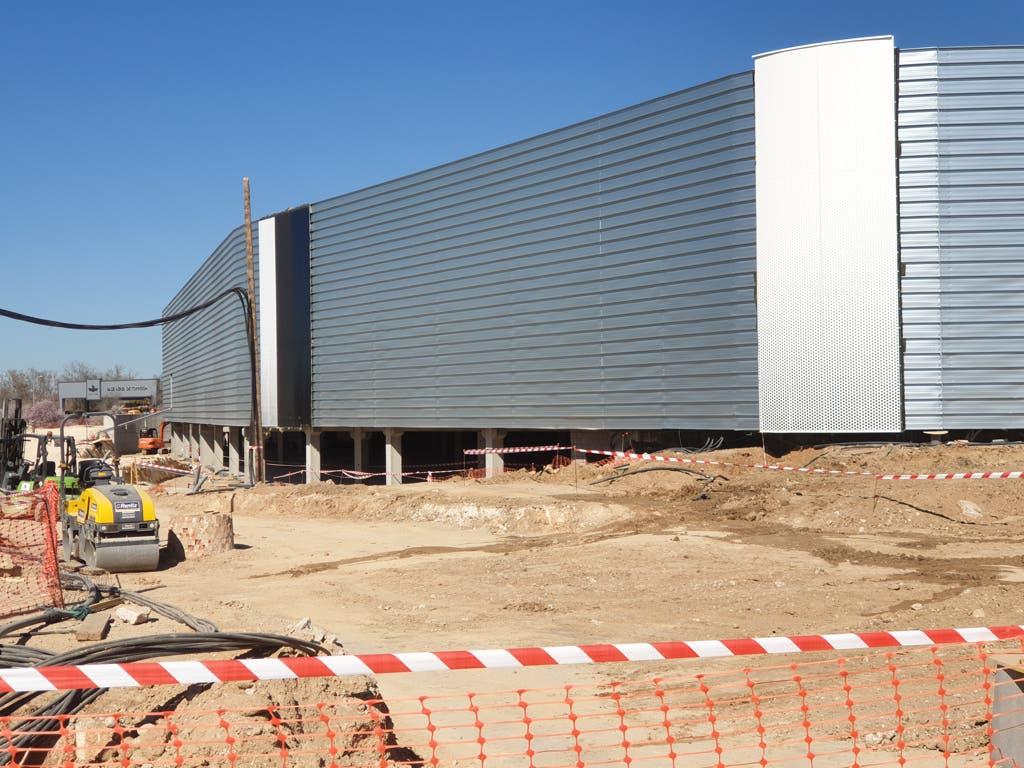 Entramos en las obras del centro comercial Open Sky de Torrejón