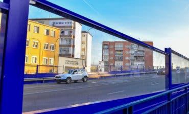 Torrejón instala nuevas pantallas acústicas en el barrio San José