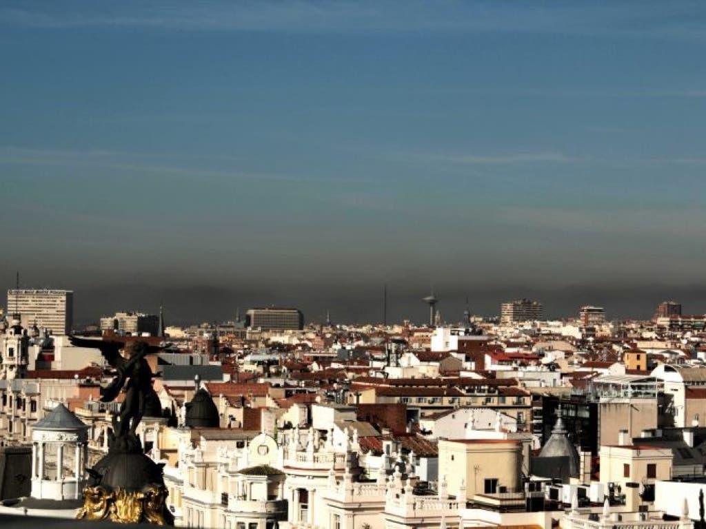 El miércoles se mantiene activado en Madrid el escenario 1 por contaminación