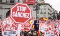 Primera gran manifestación contra Pedro Sánchez en Madrid