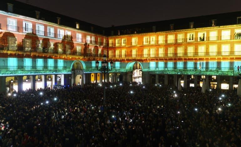 Vuelve el espectáculo devídeo mappinga la Plaza Mayor de Madrid