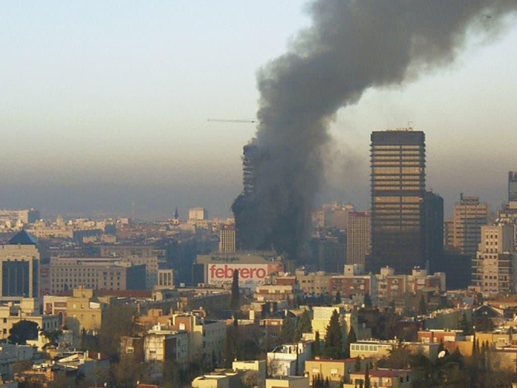 Unos documentos vinculan a Villarejo con el incendio del Windsor