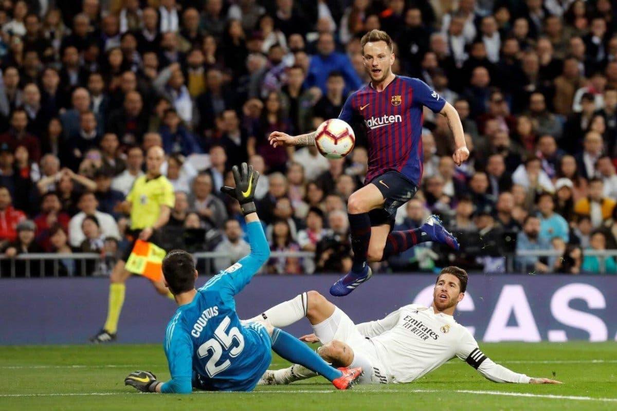 El Barça gana al Real Madrid con un gol de Rakitic