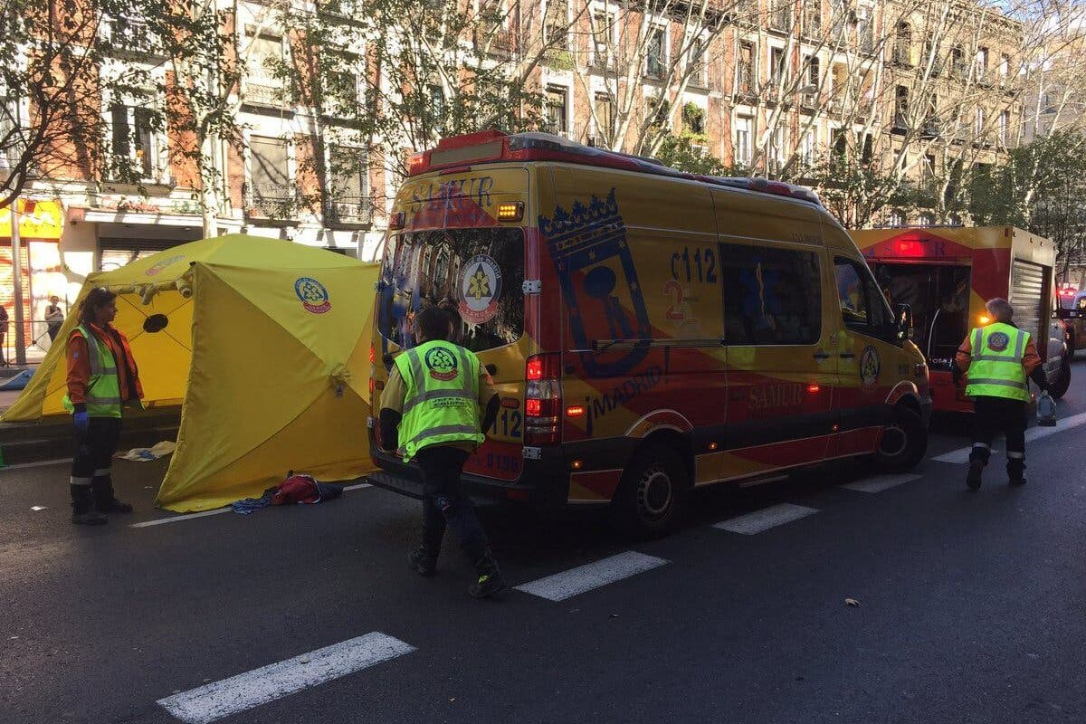 Herido grave un hombre tras ser atropellado en Madrid