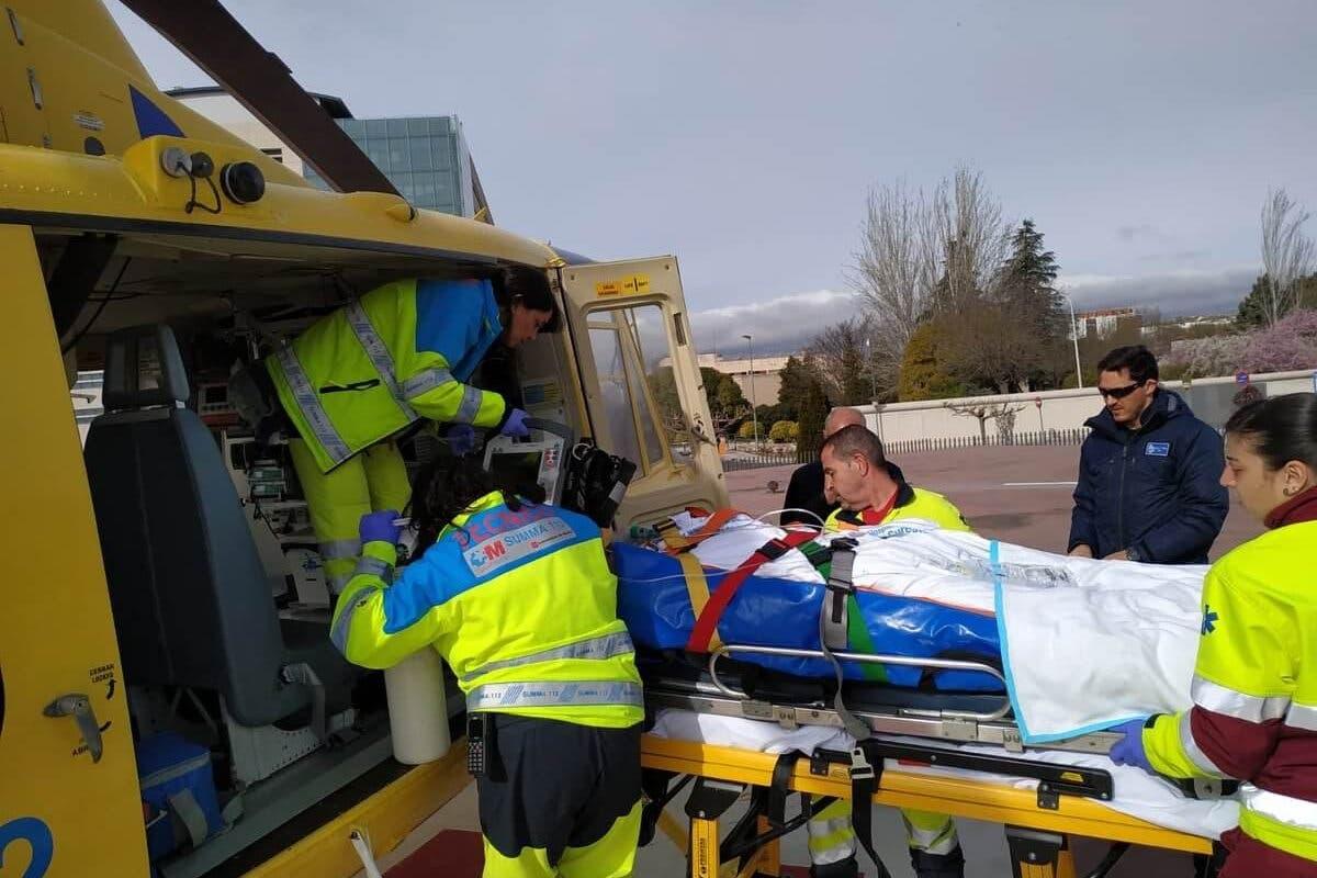 Grave accidente laboral en Campo Real