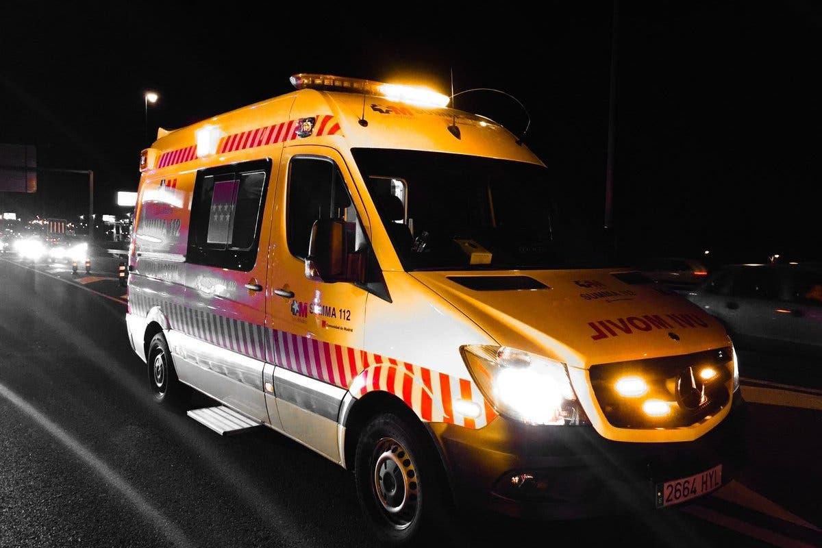 Herido muy grave un hombre atropellado en la M-50