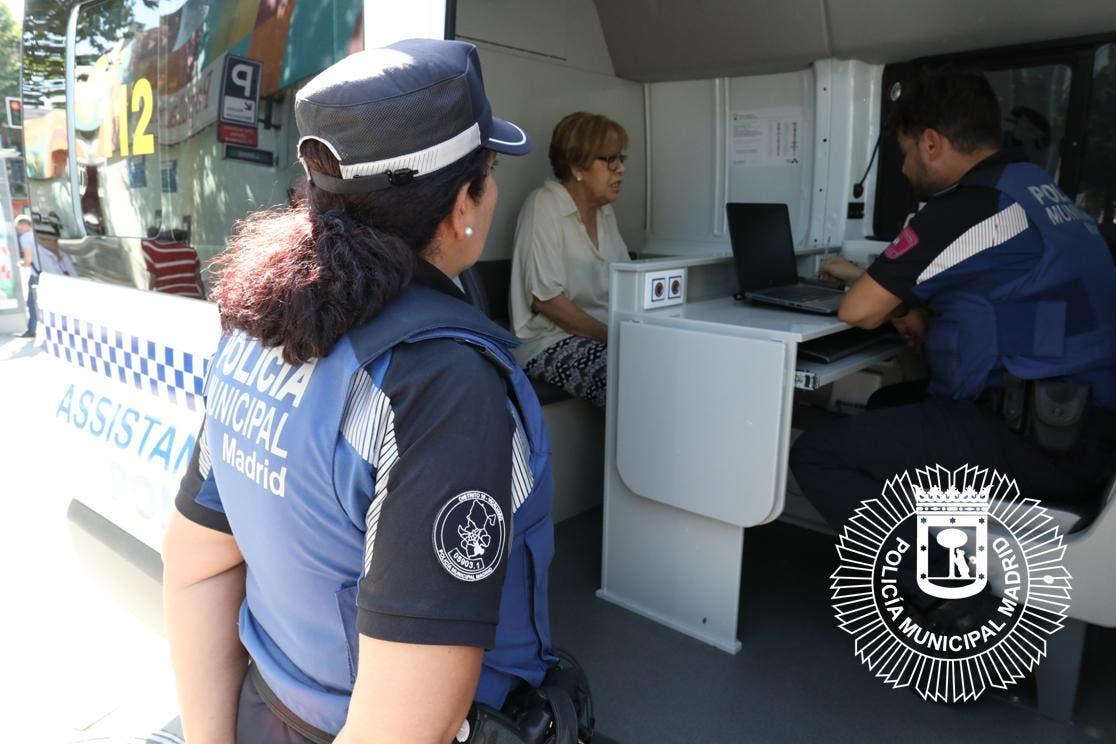Detenido por pegar a sus padres de 87 y 85 años en Ciudad Lineal