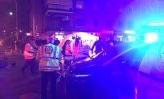 Muere un motorista al chocar con otro en Madrid