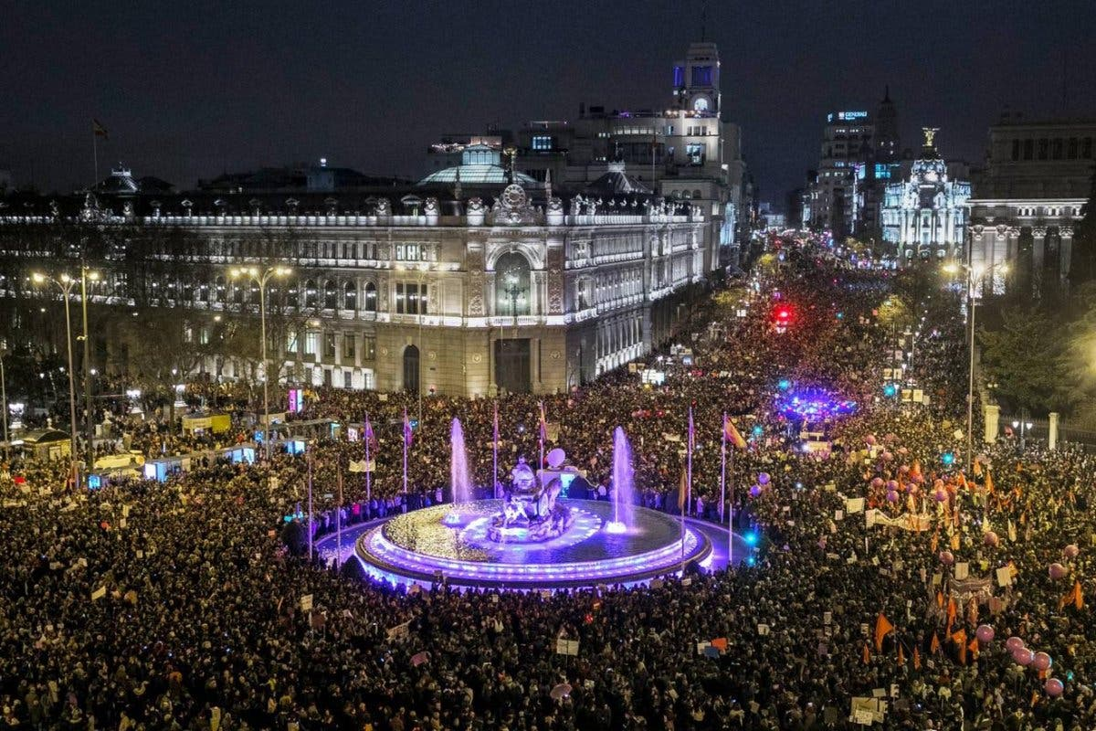El SAMUR atendió a 43 personas durante la marcha feminista de Madrid