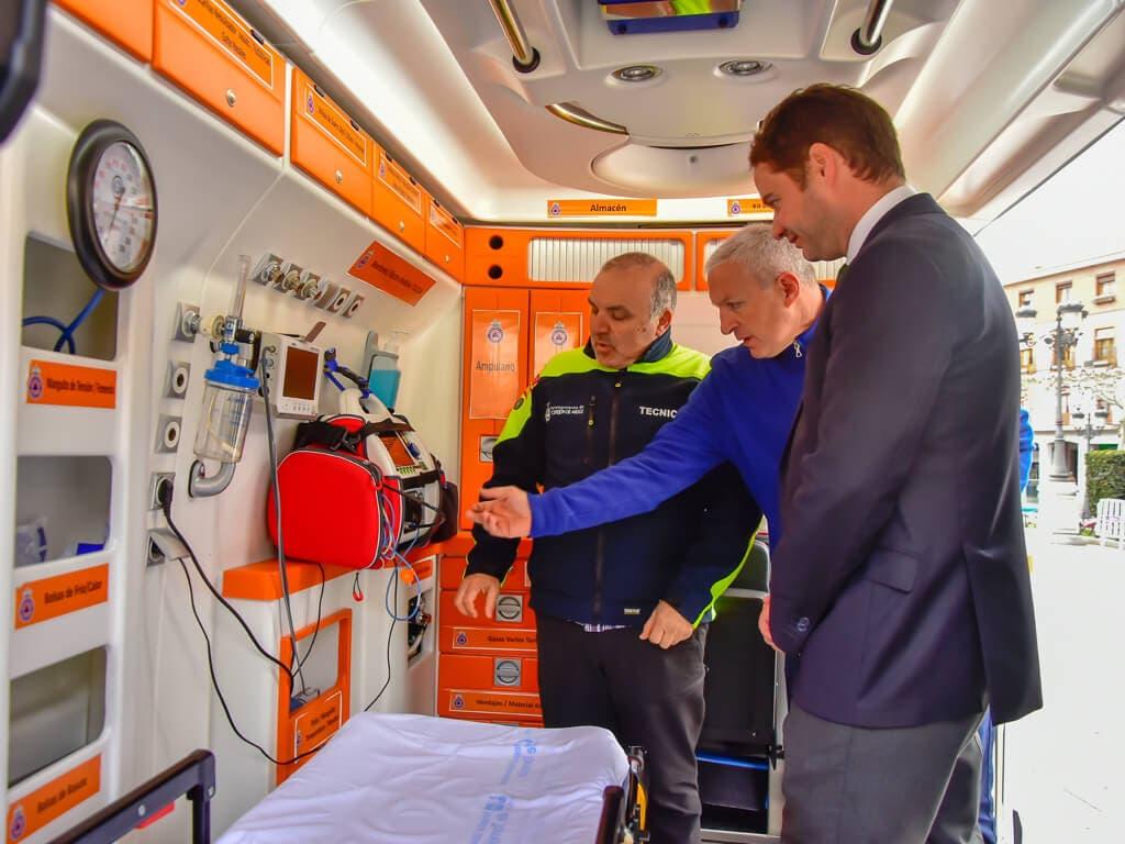 Torrejón cuenta con una nueva ambulancia municipal las 24 horas del día
