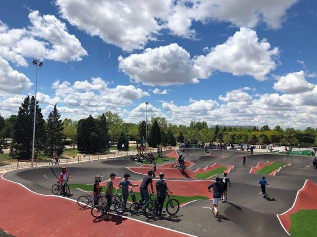 El bike park más grande de España está en Torrejón