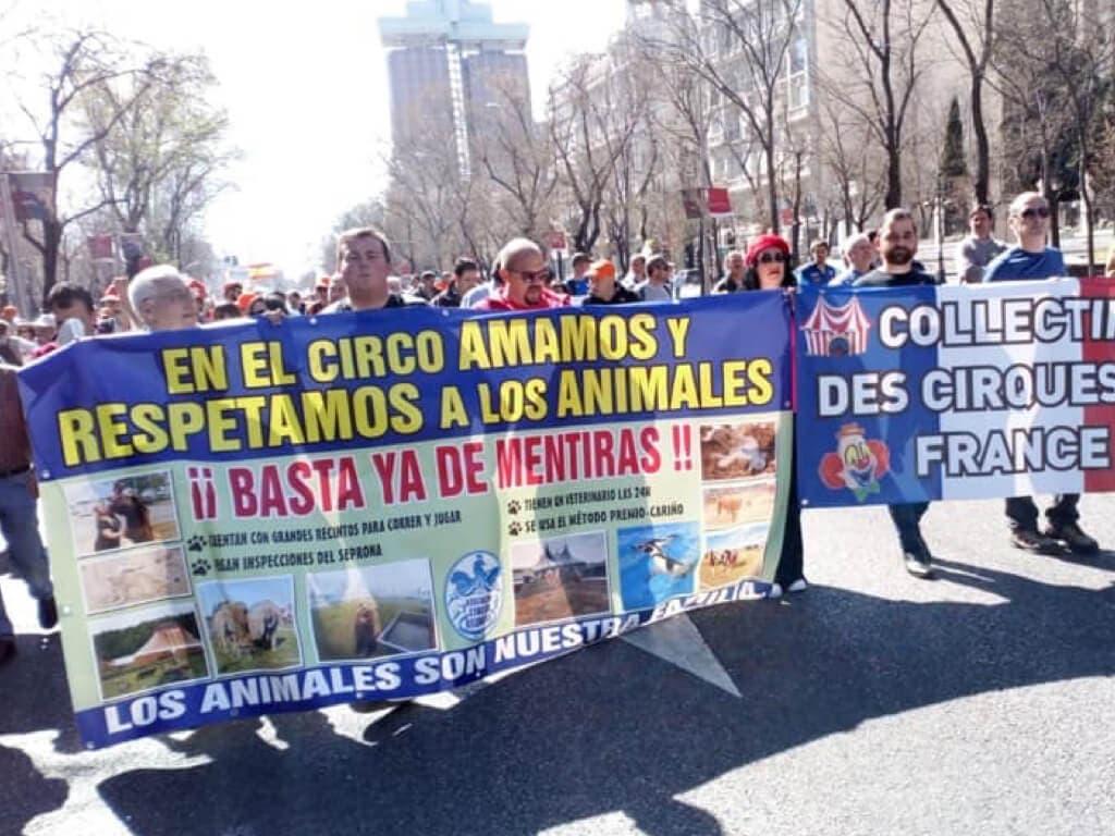 Los circos con animales llevarán a los tribunales a Carmena por querer prohibirlos