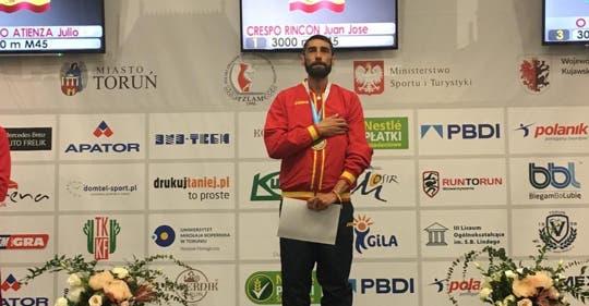 El atleta de Torrejón, Juanjo Crespo, se proclama campeón del mundo de 3.000 metros