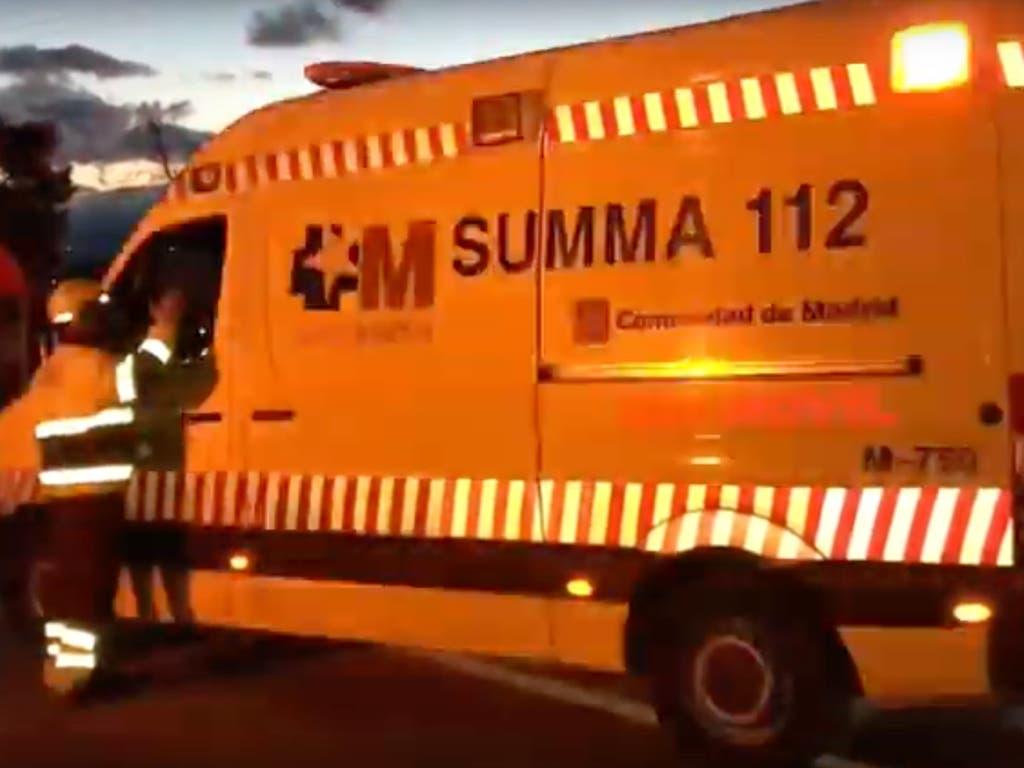 Tres mujeres heridas en un accidente en la M-600
