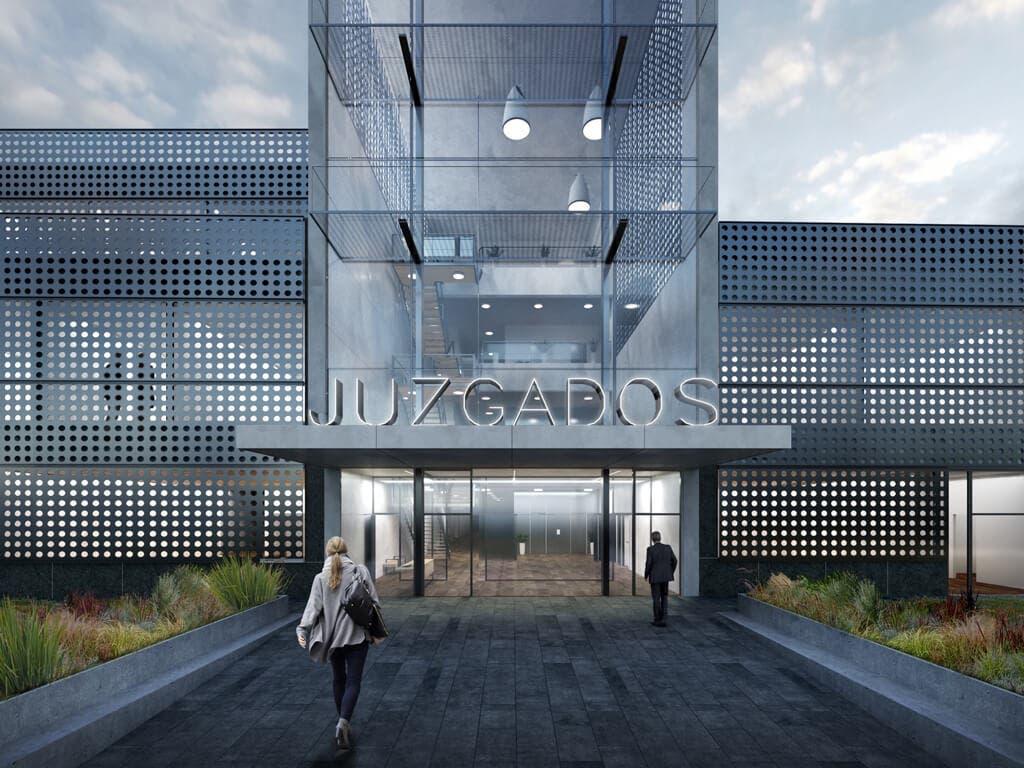 Así será el nuevo edificio que agrupará todos los juzgados de Torrejón