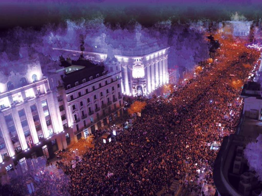 Horario y recorrido de la manifestación del 8 de marzo en Madrid