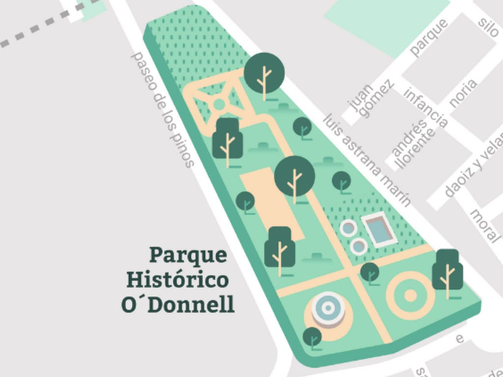 El Parque O'Donnell de Alcalá de Henares no será vallado